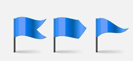 banderas. ilustración vectorial vector