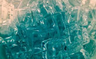 cubitos de hielo, foto de primer plano