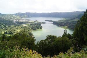 paisaje de las islas azores, portugal foto