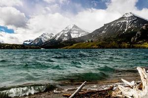 Middle Waterton Lake Waterton Lakes National Park Alberta Canada photo