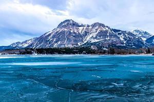 Upper Waterton Lake. Waterton Lakes National Park, Alberta, Canada photo