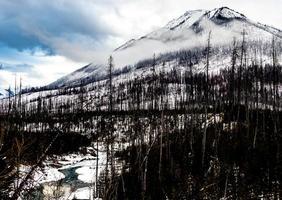 rangos de bermellón. parque nacional kootney. columbia británica, canadá. foto