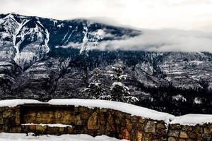 mirador kootnery. parque nacional kootney. columbia británica, canadá. foto