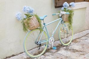 Creative looking bike in montenegro photo