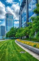 Downtown of Charlotte North Carolina skyline photo