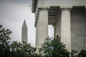 monumento a washington en washington dc foto