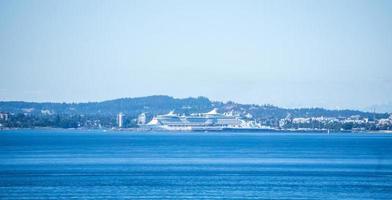 Vistas desde la terminal de cruceros de Ogden Point en Victoria, BC, Canadá foto