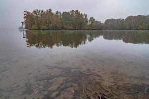 Autumn in dixie on catawba river gastonia north carolina photo