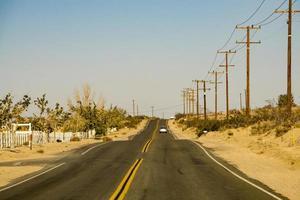 escenas en la vieja ruta 66 en california foto