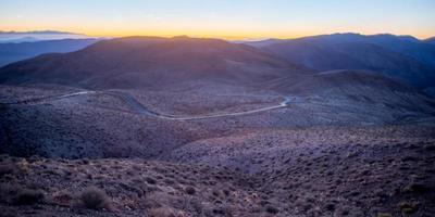 Parque Nacional Valle de la Muerte en California, EE. foto