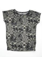 Shirt folded t-shirt on white background photo