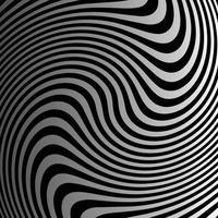 patrón de fondo de vector de remolino gris y negro degradado
