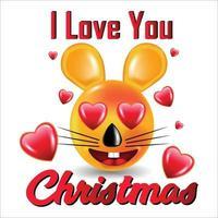 cute christmas design vector