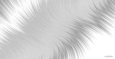 Abstract line Background. Curved twisted slanting pattern vector