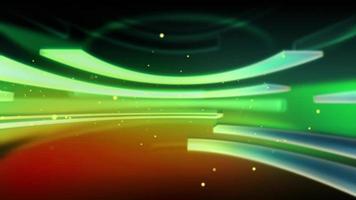 Virtual Studio Style News Background video