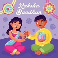 Indian Raksha Bandhan Day vector