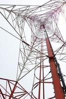 torre repetidora de antena foto