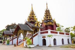 Beautiful Thai Temple Wat Sri Chum, temple in Lampang, thailand photo