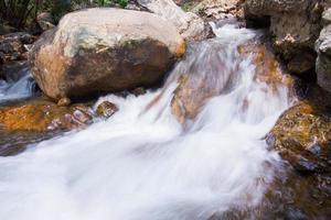 cascada en el parque nacional khao yai tailandia foto