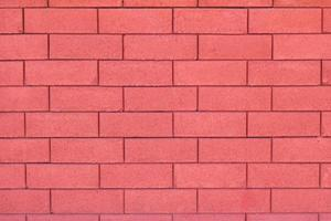 Glamour red brick wall background photo