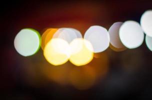 bokeh en las luces del mercado foto