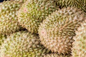 Durian, rey de la fruta, para vender en Tailandia. foto