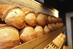 Sequential Bread on the shelf, Bakery Products, Pastry and Bakery photo