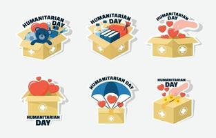 World Activism Humanitarian Day vector