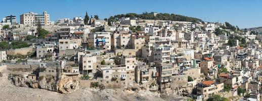 barrio árabe de jerusalén foto