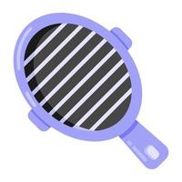 Grill Pan and Utensil vector