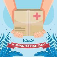 Humanitarian Day Celebration vector