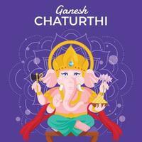 Ganesh Chaturthi Festival vector