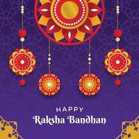 Happy Raksha Bandhan Background vector