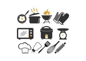 Kitchen icon design template illustration vector