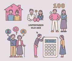 Asset planing people vector