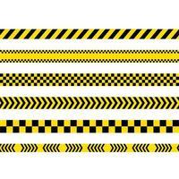 Police line Vector icon design illustration