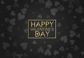 Frame for invitation, greeting card, banner for Valentine's Day. vector