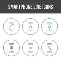 Mobile Apps Vector Icon Set