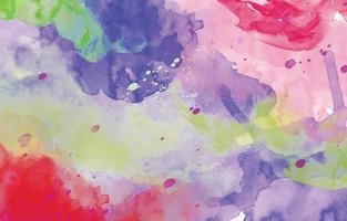 Colorful Watercolor Background Template vector