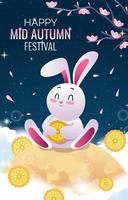 Chinese Mid Autumn Festival Concept vector