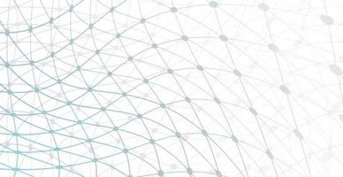Abstract white background grid of lines - Vector