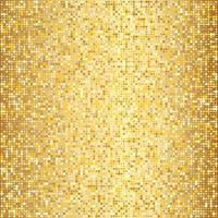 Abstract golden halftone pattern Gold polka dot vector