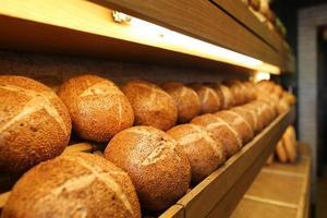 Baked Walnut Breads, Floury Products, Bakery and Bakery photo