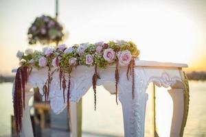 Wedding Ceremony Desk, Marriage, Marriage Organization, Wedding Table photo