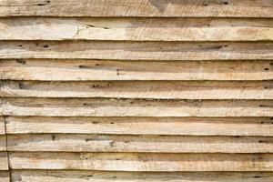 Fondo de textura de pared de tablón de madera marrón sucio foto