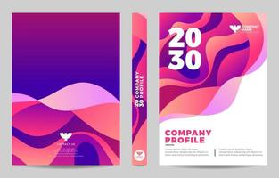 Company Profile Design Template vector
