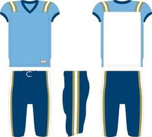 Field Goal American Football Jersey vector