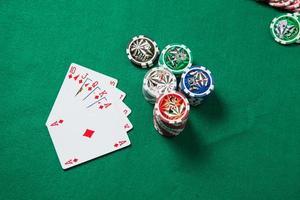 blackjack en el casino foto