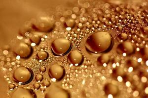Gotas de agua fondo macro impresiones modernas de alta calidad foto