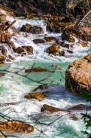 Río Takakka, Parque Nacional Yoho, BC, Canadá foto